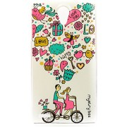 Purple Eyes Exclusive Designer Printed Back Cover for Lenovo S890 (Key 2 Love)