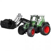 Bruder - 2062 - Véhicule Miniature - Tracteur Fendt Favorit 926 Vert avec fourche