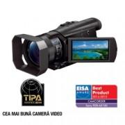 Sony FDR-AX100 - camera video semi - profesionala cu 4K