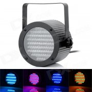 Professional 4 Channel 86-LED RGB Stage Light w/ DMX512 / Sound / Master / Slave Control - Black
