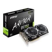 MSI Video Card GeForce GTX 1080 ARMOR 8G OC GDDR5X 8GB/256bit GTX_1080_ARMOR_8G_OC