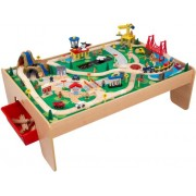 KidKraft 17850 - Tavolo e set Trenino Waterfall Mountain