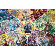 Puzzle & Dragons - 1000pcs Jigsaw Puzzle [The World of Dragon and God] (10-1252)