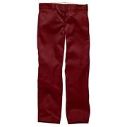 Dickies Straight Pantalones para hombre, Rojo (Aged Brick), W29/L30