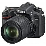 Aparat Foto D-SLR NIKON D7100 (Negru), cu Obiectiv 18-105mm VR, Filmare Full HD, 24.1MP