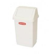 Koš odpadkový CLICK 9l - bílý CURVER