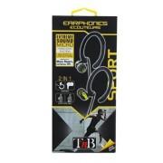 Casti TnB PREMIUM SPORT HANDS FREE KIT BLACK
