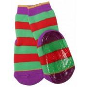 Ewers anti-slip sokken strepen oranje