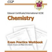 Edexcel International GCSE Chemistry Exam Practice Workbook with Answers (A*-G Course) by CGP Books