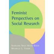 Feminist Perspectives on Social Research by Sharlene Nagy Hesse-Biber
