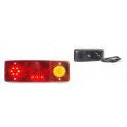 LED hátsó lámpa 3kamrás JOBB 12/24V