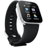 Sony Designer Bluetooth Digital Black Dial Unisex Watch MN2SW