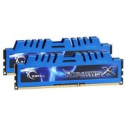Memorie G.Skill RipJawsX 8GB (2x4GB) DDR3 PC3-17000 CL10 1.60V 2133MHz Intel Z97 Ready Dual Channel Kit, F3-2133C10D-8GXM