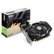 Placa video MSI GeForce GTX 1050 Ti 4G OC, 1341 (1455) MHz, 4GB GDDR5, 128-bit, DL-DVI-D, HDMI, DP