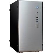 Inter-Tech AM-1 Aluminium Nero, Argento