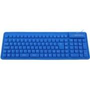 Tastatura silicon Esperanza EK126B Albastru