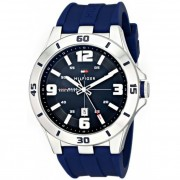 Tommy Hilfiger Men's 1791062 Analog Display Quartz Blue Watch
