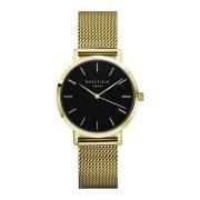 Rosefield The Tribeca Black Gold horloge TBG-T60