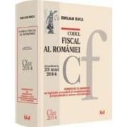 Codul Fiscal Al Romaniei Act. 23 Mai 2014 Comentat Si Adnotat - Emilian Duca