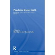 Population Mental Health by Neal Cohen