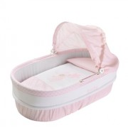 Petit Praia Lined Carrycot with Top (Baby Rosa)