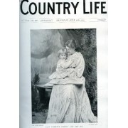Country Life Illustrated, Vol. Xxii, N° 549, July 1907 (Contents: Our Portrait Illustration: Lady Florence Norman And Her Son. The Landowners' Central Association. Country Notes. Stopham ...