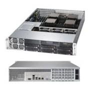 Supermicro SuperServer 8027R-TRF+ Intel C602 Socket R (LGA 2011) 2U Nero