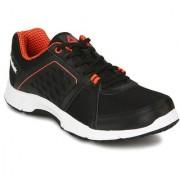 Reebok Men's Edge Quick 2.0 Black Lace-up Sport Shoes