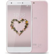 "Telefon Mobil ZTE Blade A512, Procesor Quad-Core 1,4GHz, LCD IPS capacitive touchscreen 5.2"", 2GB RAM, 16GB Flash, 13MP, Wi-Fi, 4G, Dual Sim, Android (Roz) + Cartela SIM Orange PrePay, 6 euro credit, 4 GB internet 4G, 2,000 minute nationale si internation"