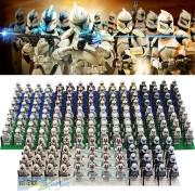 16pcs/Set Star Wars The Force Awakens Stormtrooper Clone Trooper REX,Desert stormtrooper Building Blocks Compatible with Legoes