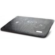 """Cooler Laptop Gembird NBS-2F17-01 15"""" (Negru)"""
