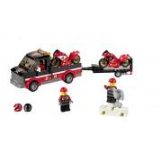 LEGO® CITY - Transportor de motociclete de cursa - 60084