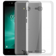 Hello Zone Exclusive Soft Transparent Crystal Clear Back Cover Back Case Cover For Lava A73