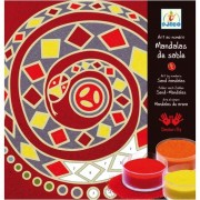 Djeco / Colored Sand Art By Numbers, Mandalas