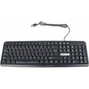 Tastatura 4World pentru computer 104 taste USB, neagra