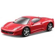 2009 Ferrari 458 Italia [Bburago 36100], Rojo, 1:43 Die Cast