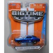 Jada Bigtime Muscle 1/64 Blue 70 Ford Mustang Boss 429 by Jada