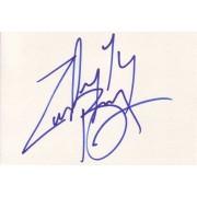 Zachery Ty Bryan Autographed Index Card