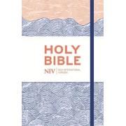 NIV Thinline Blue Waves Cloth Bible by New International Version