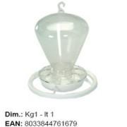 Hranitor pasari, plastic, HRANITOR 148, 1 kg, Italia