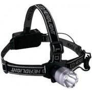 Lanterna de Cap 1 LED 3W aliaj de aluminiu
