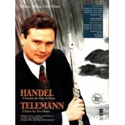 Handel - Sonatas for Flute & Piano; Telemann - 3 Duets for Two Flutes by Richard Wyton