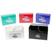 Deck Box - Magnetic Double Deck Boxes By Monster (Set of 5) - Fits Mtg Magic Yugioh and Pokemon