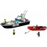 Set Constructie Lego City Nava De Patrulare A Politiei