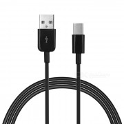 USB 2.0 Male to USB 3.1 Type-C Male Charging Data Cable - Black (3m)
