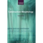 Construction Morphology by Professor Geert Booij