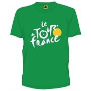 Tour De France T Shirt Heren Met Logo Groen Maat S
