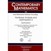 Nonlinear Analysis and Optimization II by Arie Leizarowitz