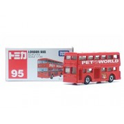 Tomy Tomica Matchbox No.95 London Bus Diecast Toy Car