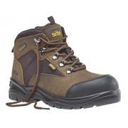 Site Onyx Boot S3, braun Gr.42